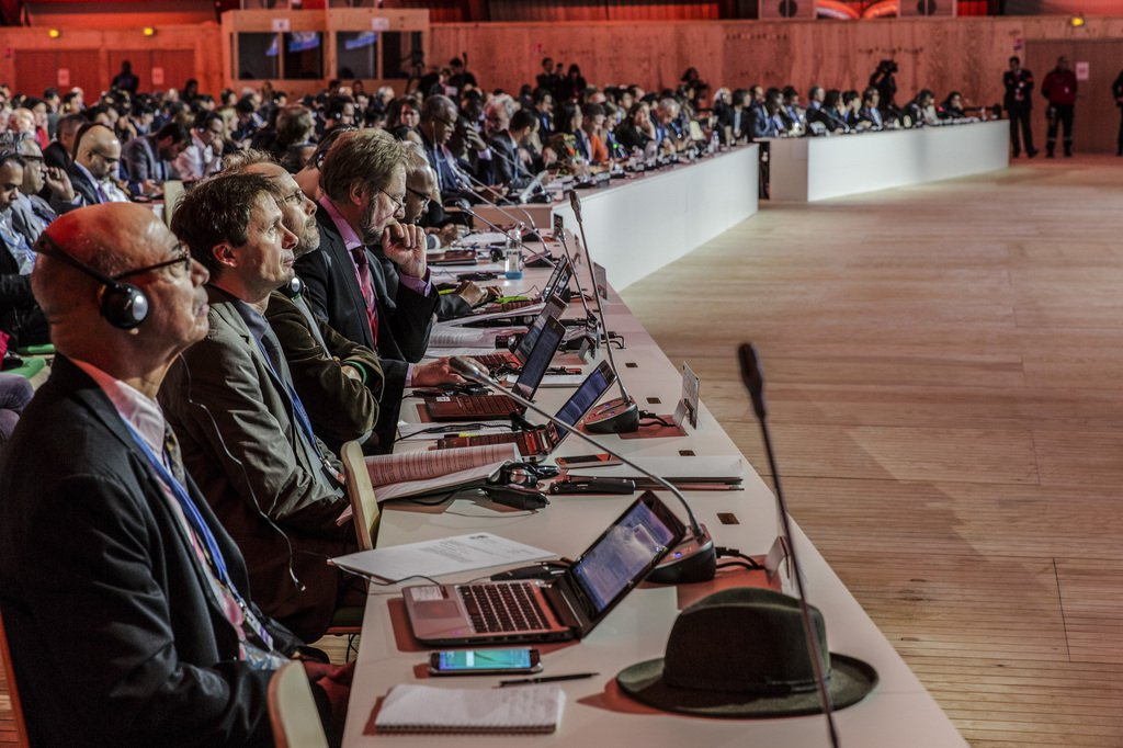 During the Paris Climate Change Conference, crediting mechanisms were defined as important climate protection instruments. (Photo: Keystone)